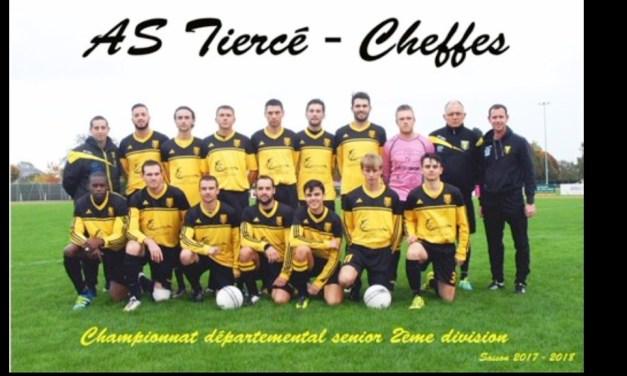 D2 (22e journée) : Tiercé-Cheffes (b) a développé du bon football face à Chazé-Vern-d'Anjou (5-1).