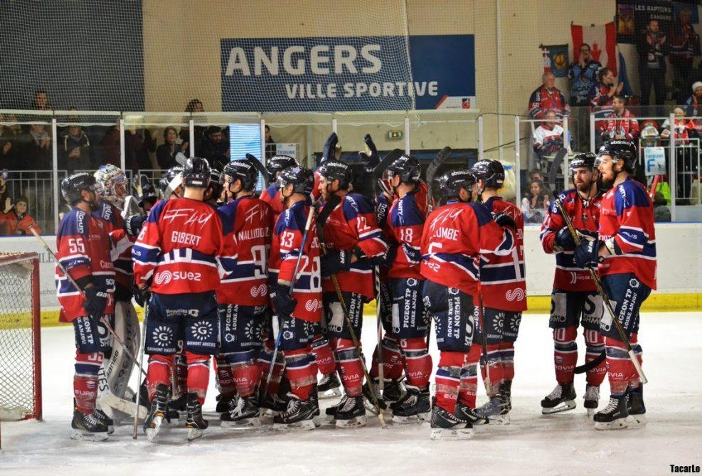Ligue Magnus (33e journée) : Les Ducs d'Angers enchaînent une troisième victoire consécutive à Épinal (3-2, ap.).