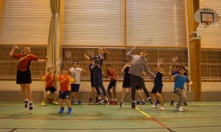 À la rencontre des jeunes du Badminton Angers Club.
