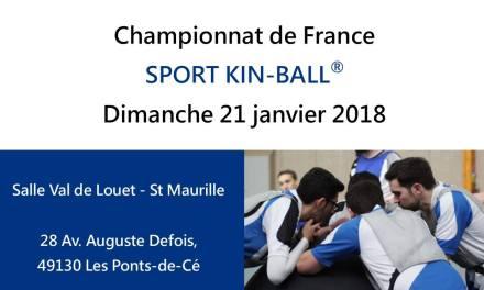Rencontre avec Morgane Dupuy, présidente du club de Kin-Ball des Ponts-de-Cé.