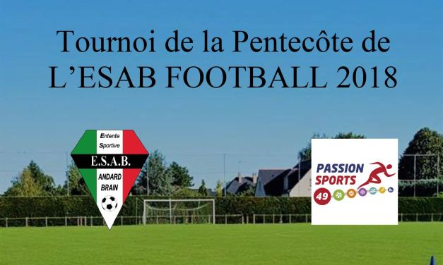 L'ES Andard-Brain Football organise, lors du week-end de la Pentecôte, son désormais immanquable tournoi annuel.