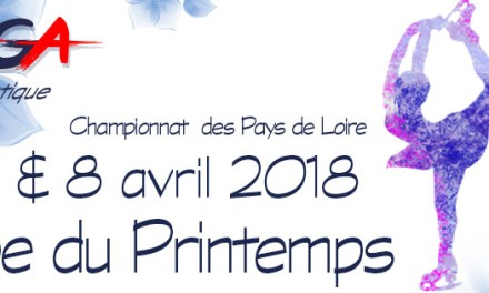 L'ASGA Patinage Artistique organise sa traditionnelle Coupe du Printemps 2018, Finale Régionale de Patinage Artistique.