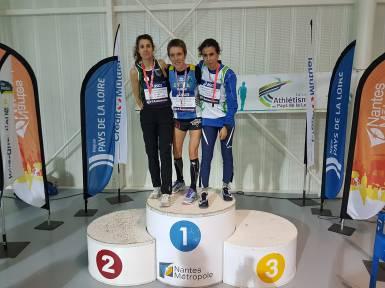 En véritable championne, Catherine multiplie les podiums.