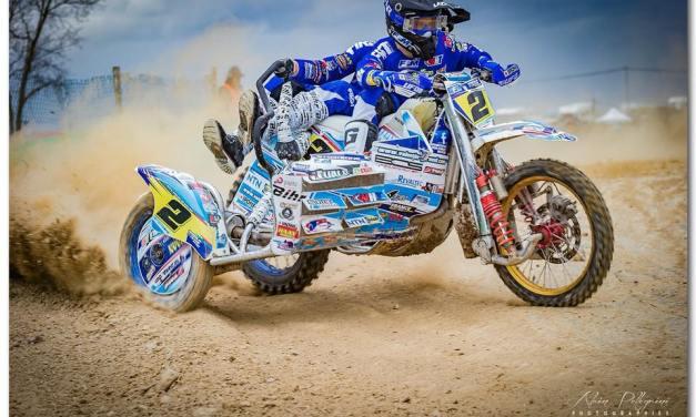 7ème manche du Championnat de France de side-car cross à Baugé-en-Anjou.