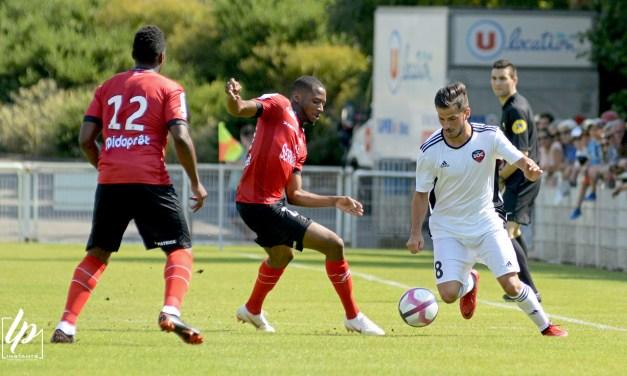 Amical : Un séduisant SO Cholet (National) s'incline en fin de partie face à EA Guingamp (L1).