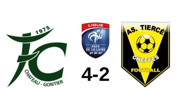 Coupe des Pays de la Loire (2e Tour) : Grosse déception de Tiercé-Cheffes à Château-Gontier (4-2).