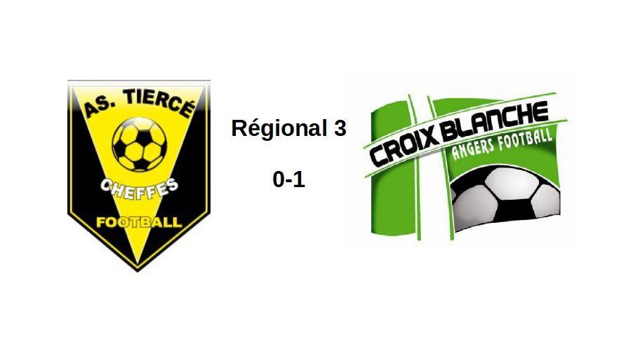 R3 (1ère journée) : La Croix Blanche se contentera des trois points à Tiercé-Cheffes (1-0).