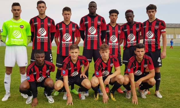 National U19 (20e journée) : Défaite frustrante du SO Cholet face à Guingamp (1-0).