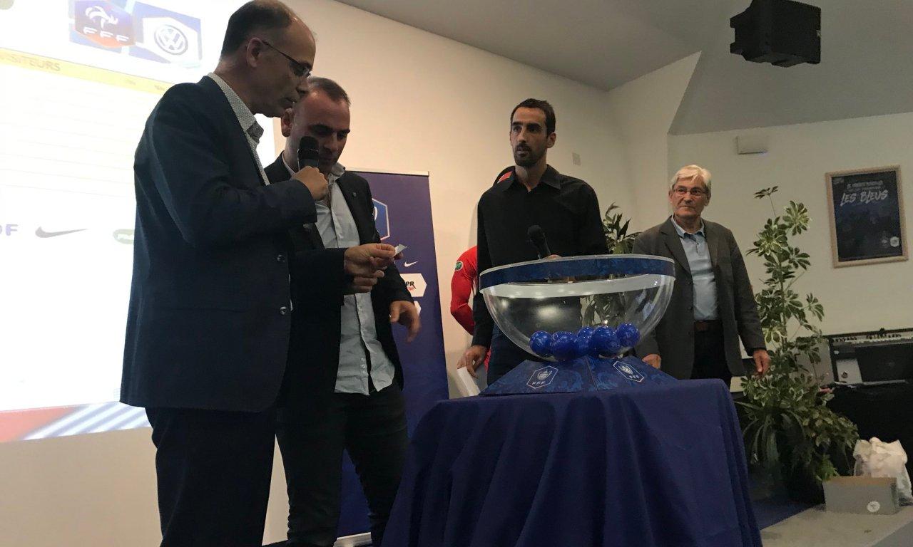 Tirage au sort de la Coupe de France Féminine et Masculine !