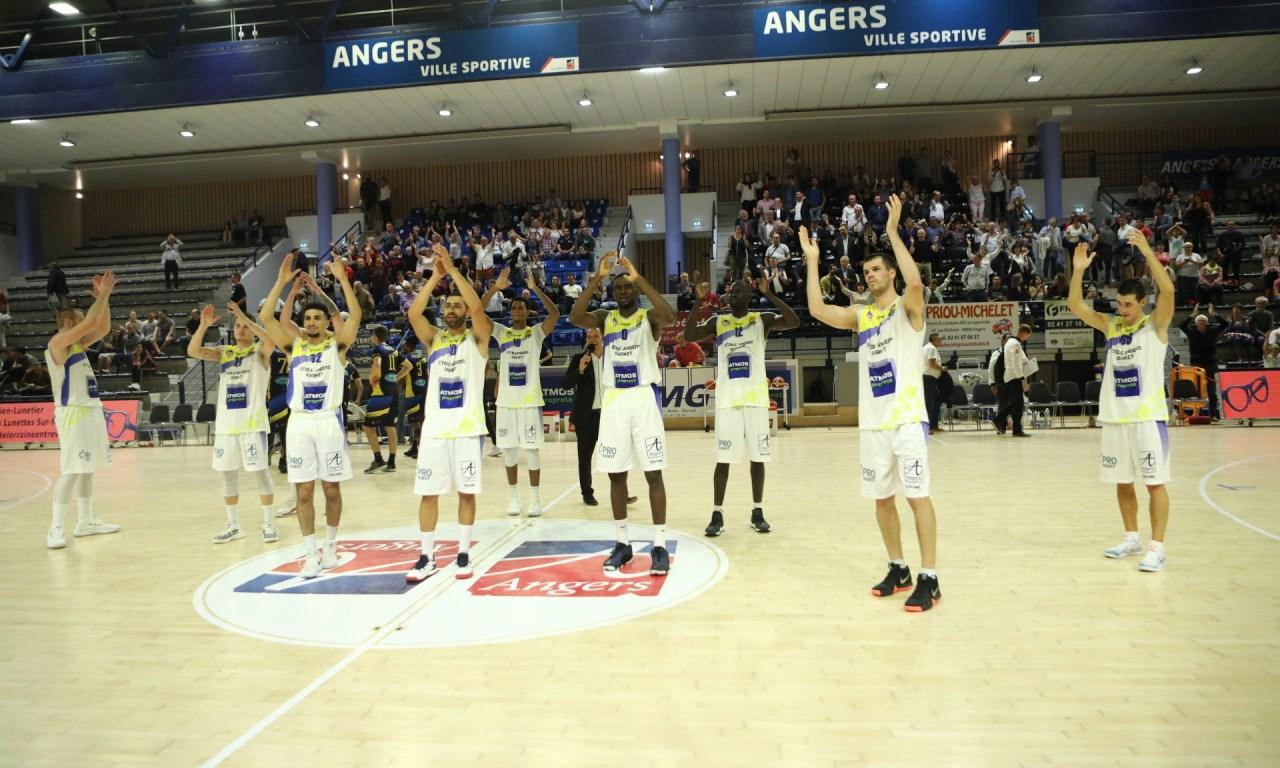 NM1 (4e journée) : L'Étoile Angers Basket se rassure à domicile face à Rueil (91-80).