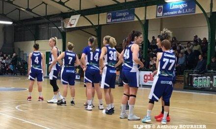 Les filles du SLB 49 s'inclinent logiquement à Limoges (66-47).