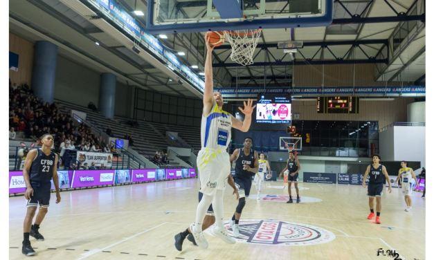 NM1 (22e journée) : Large victoire de l'Étoile Angers Basket face au Centre Fédéral (95-54).
