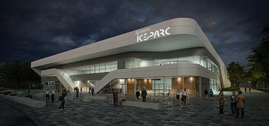 Angers IceParc, le nom de la nouvelle patinoire dévoilé.