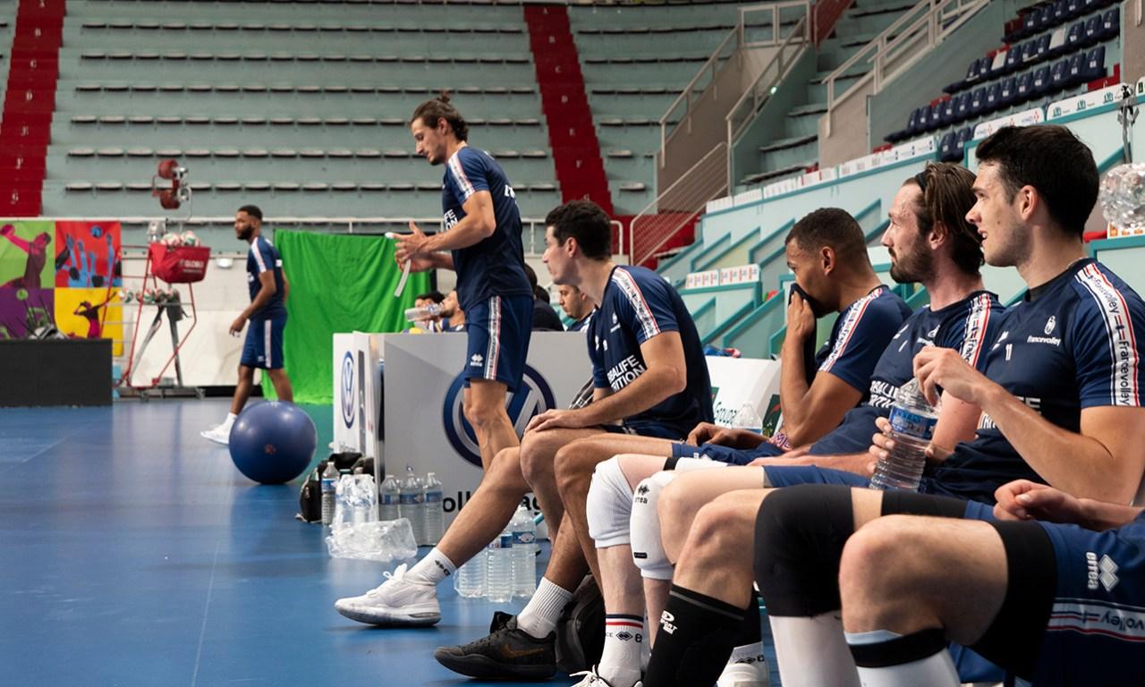 Laurent Tillie : Notre priorité est de nous concentrer sur notre jeu.