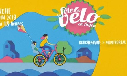 Fête du vélo en Anjou.