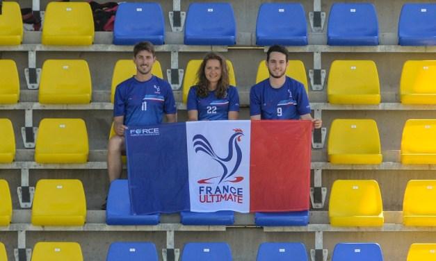 Trois angevins participaient au championnat d'Europe d'ultimate frisbee à Gyór en Hongrie.