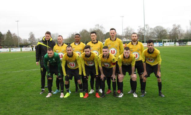 CPL (16e de finale) : L'AS Tiercé-Cheffes tombe avec les honneurs contre l'Olympique Saumur (1-4).