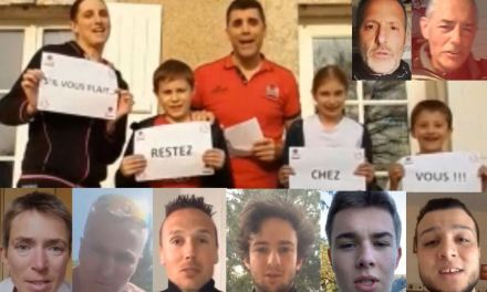 Les acteurs du sport du Maine-et-Loire montrent leur solidarité durant le confinement.