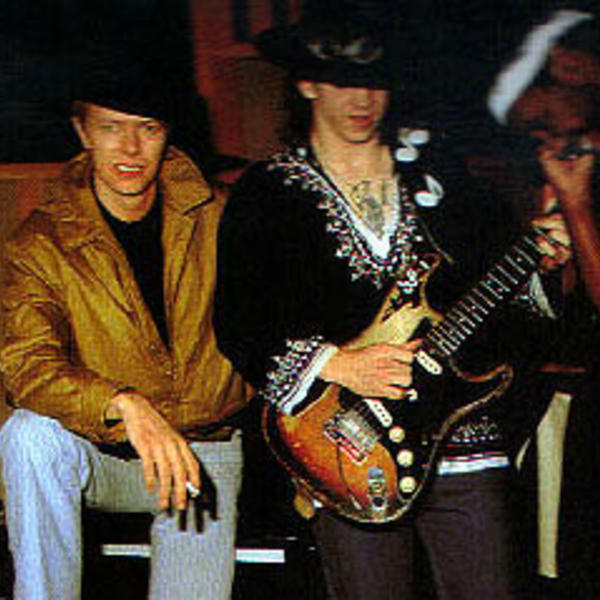 david bowie stevie ray vaughan