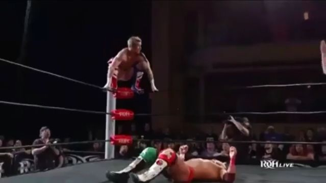 honorable mention - scurll vs ospreay vs lee