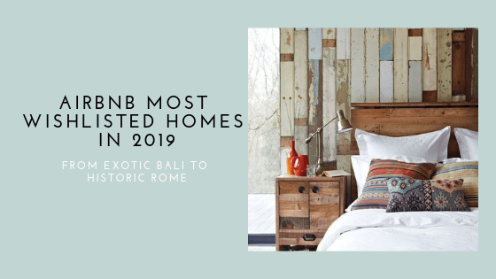 airbnb most wishlisted homes