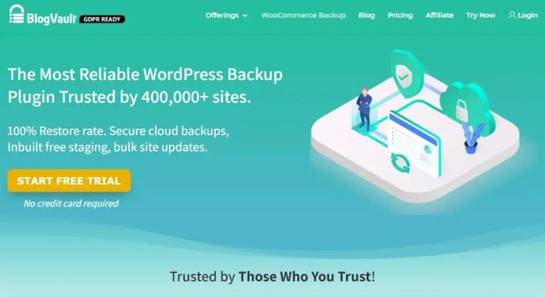 WordPress backup and restore plugin