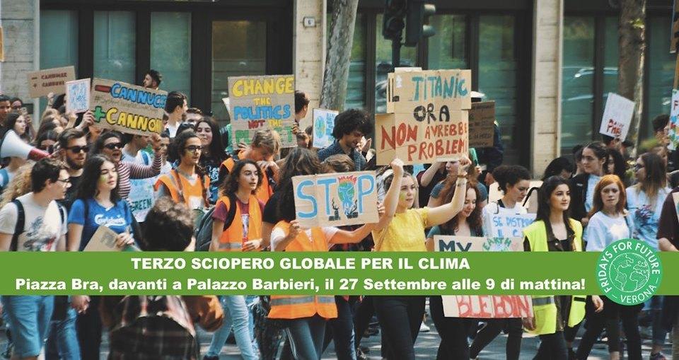 sciopero clima verona fridays for future