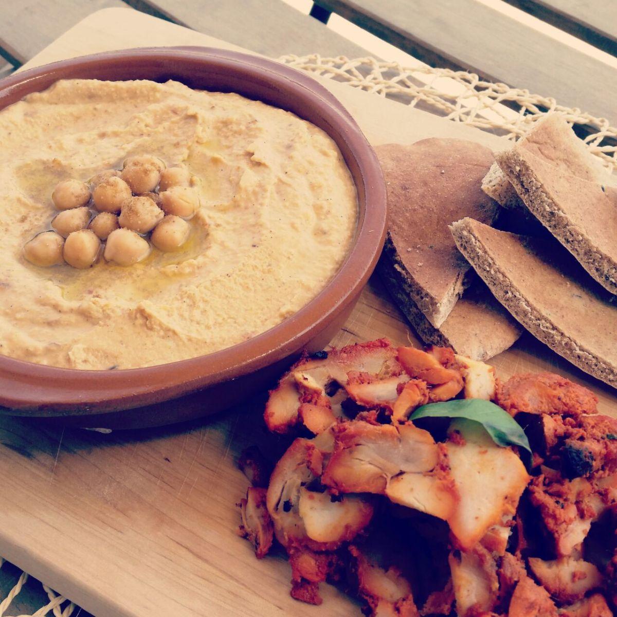 Pumpkin Hommus and Bahrain!