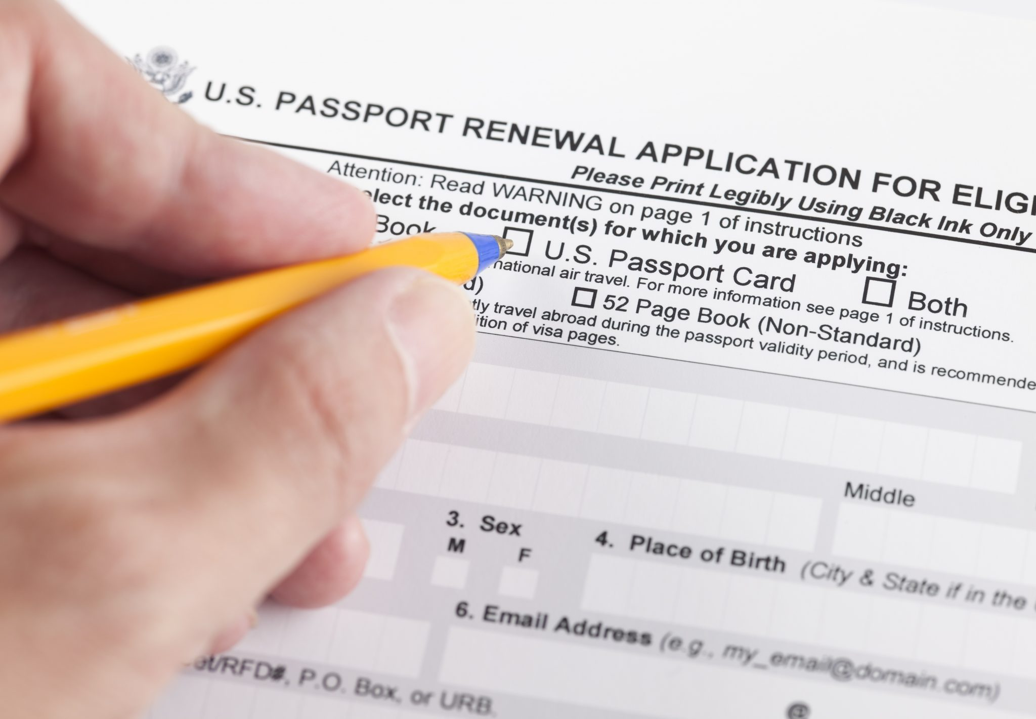 Lean How To Complete The Passport Renewal Application Form DS-82