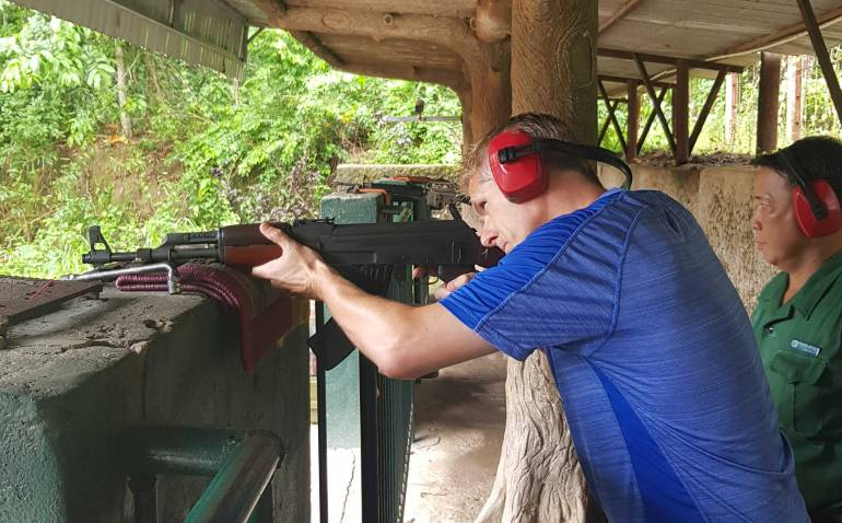 From Ho Chi Minh City you can fire an AK-47 at the Cu Chi Tunnels.