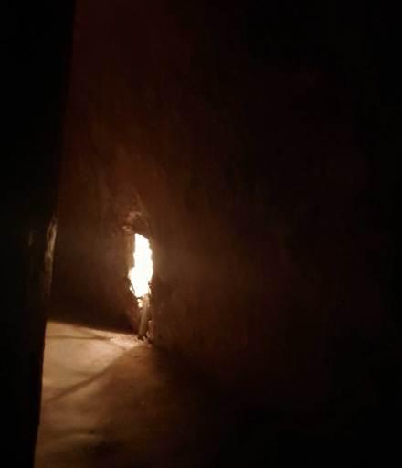 The dark, oppressive Cu Chi Tunnels