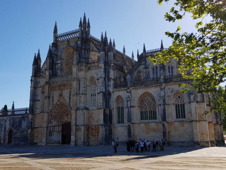 UNESCO sites Batalha Monastery