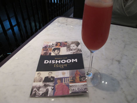 The delicious Bollybellini at Dishoom
