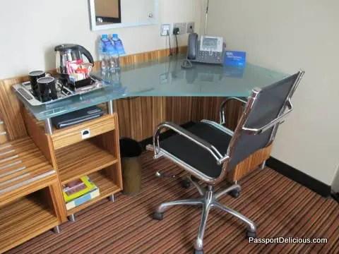 Desk at Dubai Radisson Media City