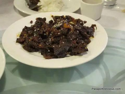Szechuan-style Dry Beef