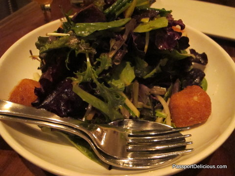 Mixed Greens at Leopold
