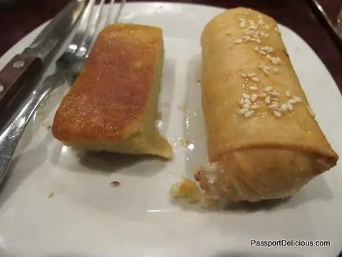 Opart Thai Fried Banana, Thai Custard