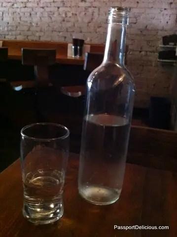 Mana Food Bar Water