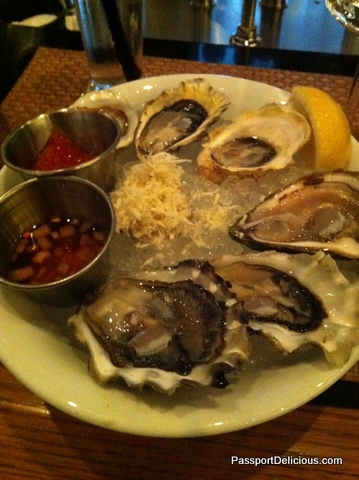 Oysters at Coast
