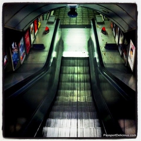 The Northern Line at Old Street