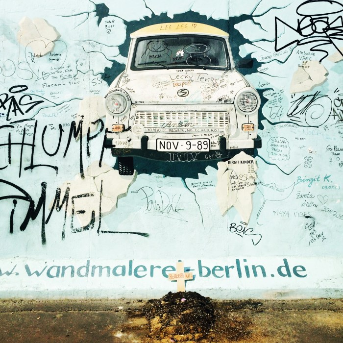 From the Longest Remaining Stretch of the Berlin Wall