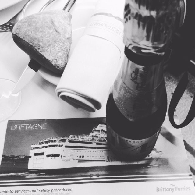 Brittany Ferries to St. Malo: Champagne & a Posh Dinner