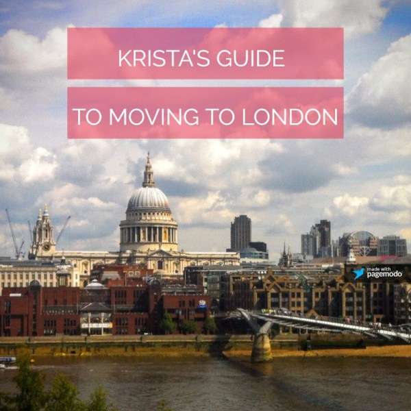 Moving to London from the US? I've got advice for you!