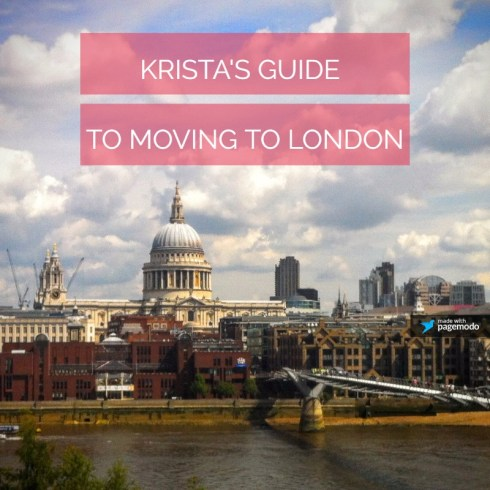 Moving to London Advice