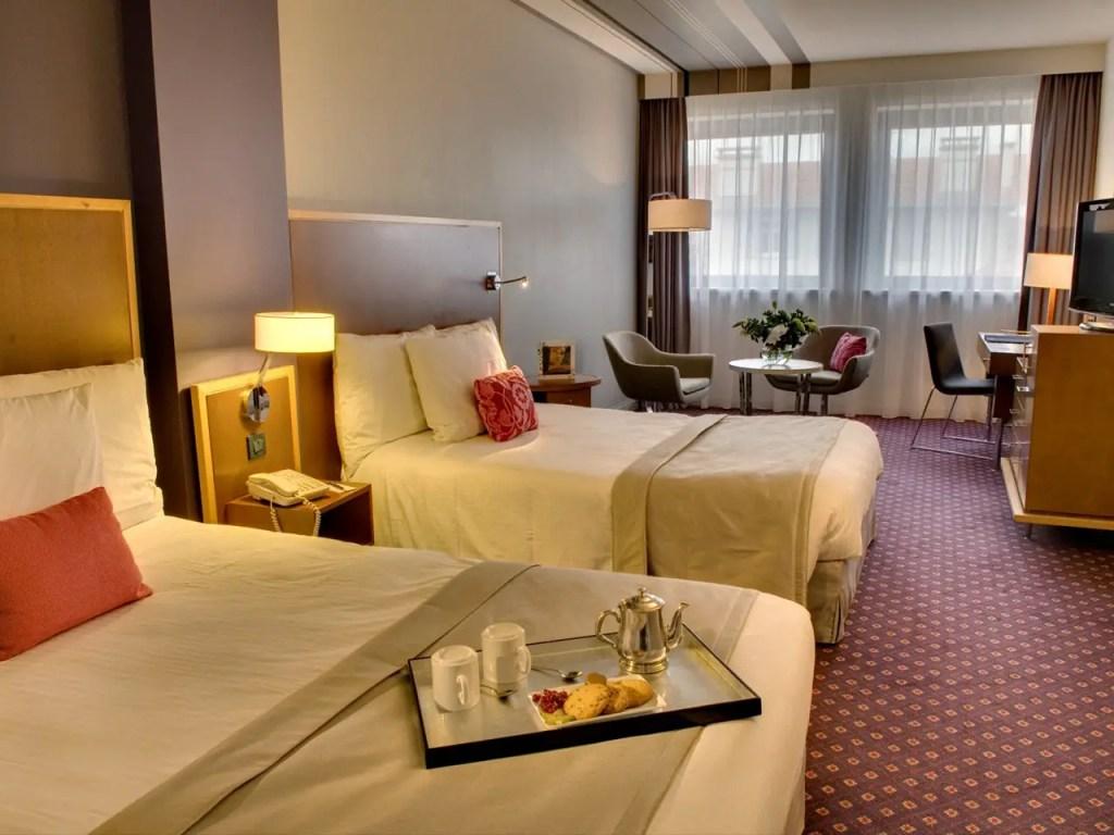 A room at the Radisson Blu Biarritz