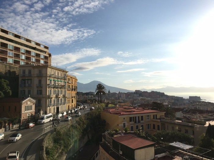 View of Vesuvius from the Grand Hotel Parker