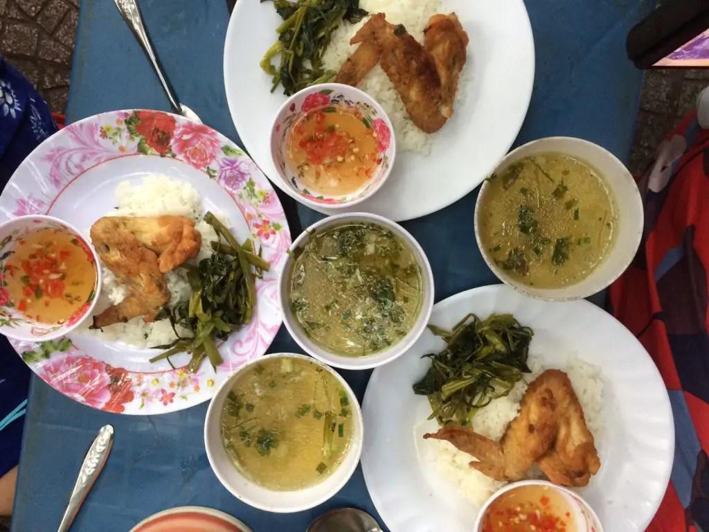 Delicious food in Saigon during My Saigon Food Tour