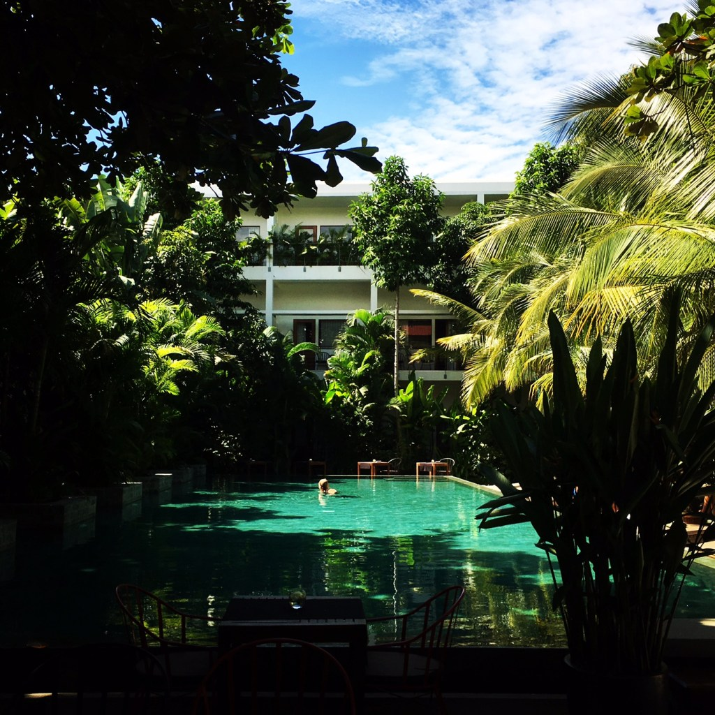 Where to stay in Phnom Penh: The lovely Plantation Urban Resort