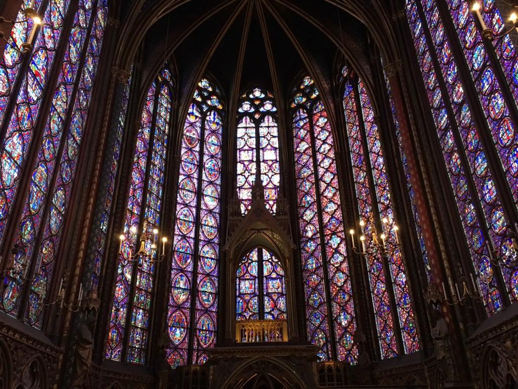Sainte Chapelle in Paris is breathtakingly beautiful