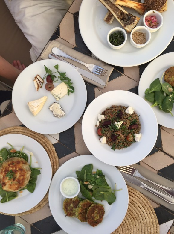Marraskesh Tip: Have dinner on the rooftop at Nomad